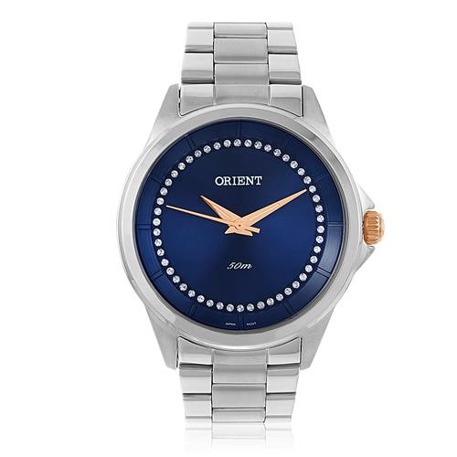 Relógio Feminino Orient Swarovski FBSS0056 D1SX Com Cristais