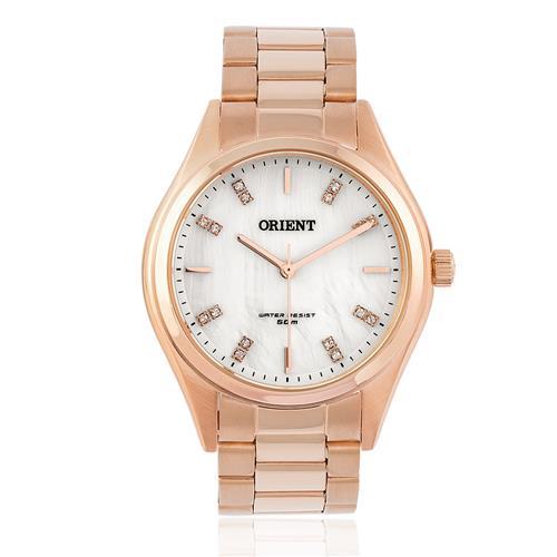 f07cad4aa6cd0 ... Relógio Feminino Orient Swarovski FRSS0027 B1RX Rose 5f699b2f1e ...