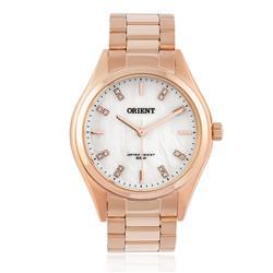 Relógio Feminino Orient Swarovski FRSS0027 B1RX Rose
