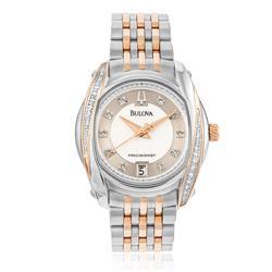 2a1b267ef34 Relógio Feminino Bulova Precisionist Diamond WB27529S Misto