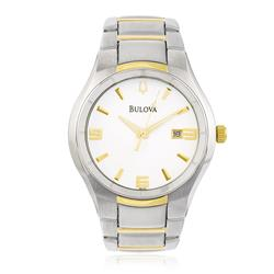 Relógio Masculino Bulova Bracelets WB21132B Aço Misto