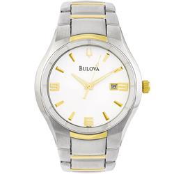 89b32e3c1c0 Relógio Masculino Bulova Bracelets WB21132B Aço Misto