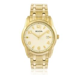 Relógio Masculino Bulova Dress WB21294G Dourado