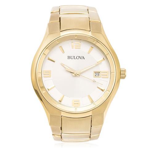 Relógio Masculino Bulova Dress WB21132H Dourado