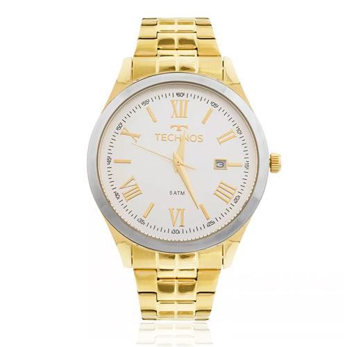 Relógio Feminino Technos Dress 2115MGM/4K Dourado