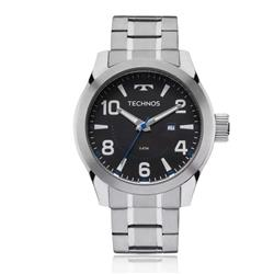 Relógio Masculino Technos Racer 2115MGO/1P Prata