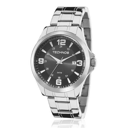 Relógio masculino Technos Classic Steel 2115MKT/1C