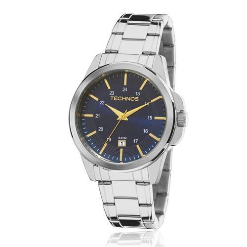 Relógio Masculino Technos Classic Steel 2115MKY/1A Aço