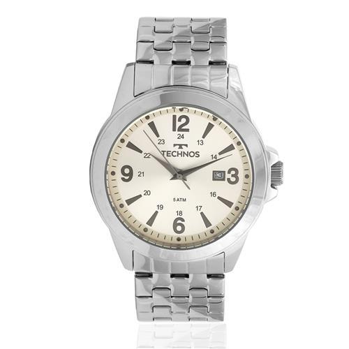 Relógio Masculino Technos 2115MLE/0X Prata