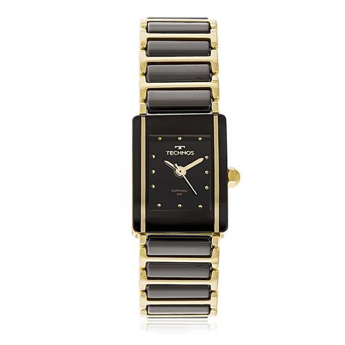 5dfbbc3a8e09f Relógio Feminino Technos Elegance Ceramic Sapphire 5Y30MYPAI 4P