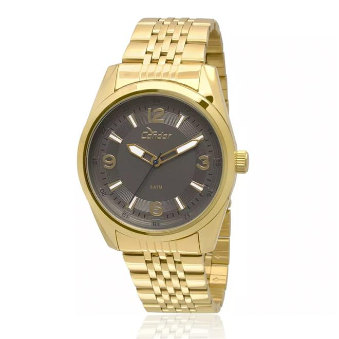 Relógio Feminino Condor Analógico CO2035KQB 4C Dourado dae25daa8a