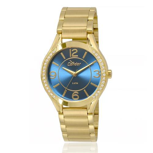 Relógio Feminino Condor Analógico CO2035KRG 4A Dourado 63b8b089c3