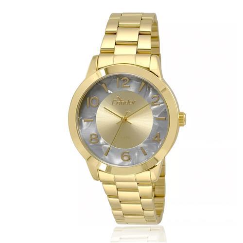 Relógio Feminino Condor Analógico CO2035KRJ 4C Dourado ebcd2bd1da