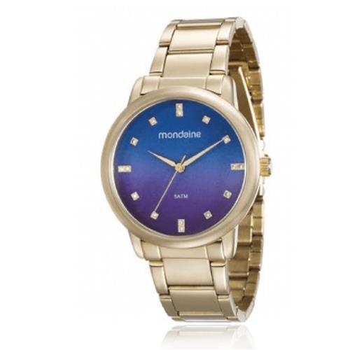 f3e8f19b5e5 Relógio Feminino Mondaine Analógico 53511LPMVDE1 Dourado