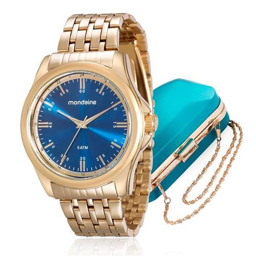 ef9d5610752 Relógio Feminino Mondaine Analógico 76598LPMVDE1K2 Dourado