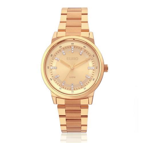 4db2c3a728e Relógio Feminino Euro Analógico EU2036YLG 4X Rose
