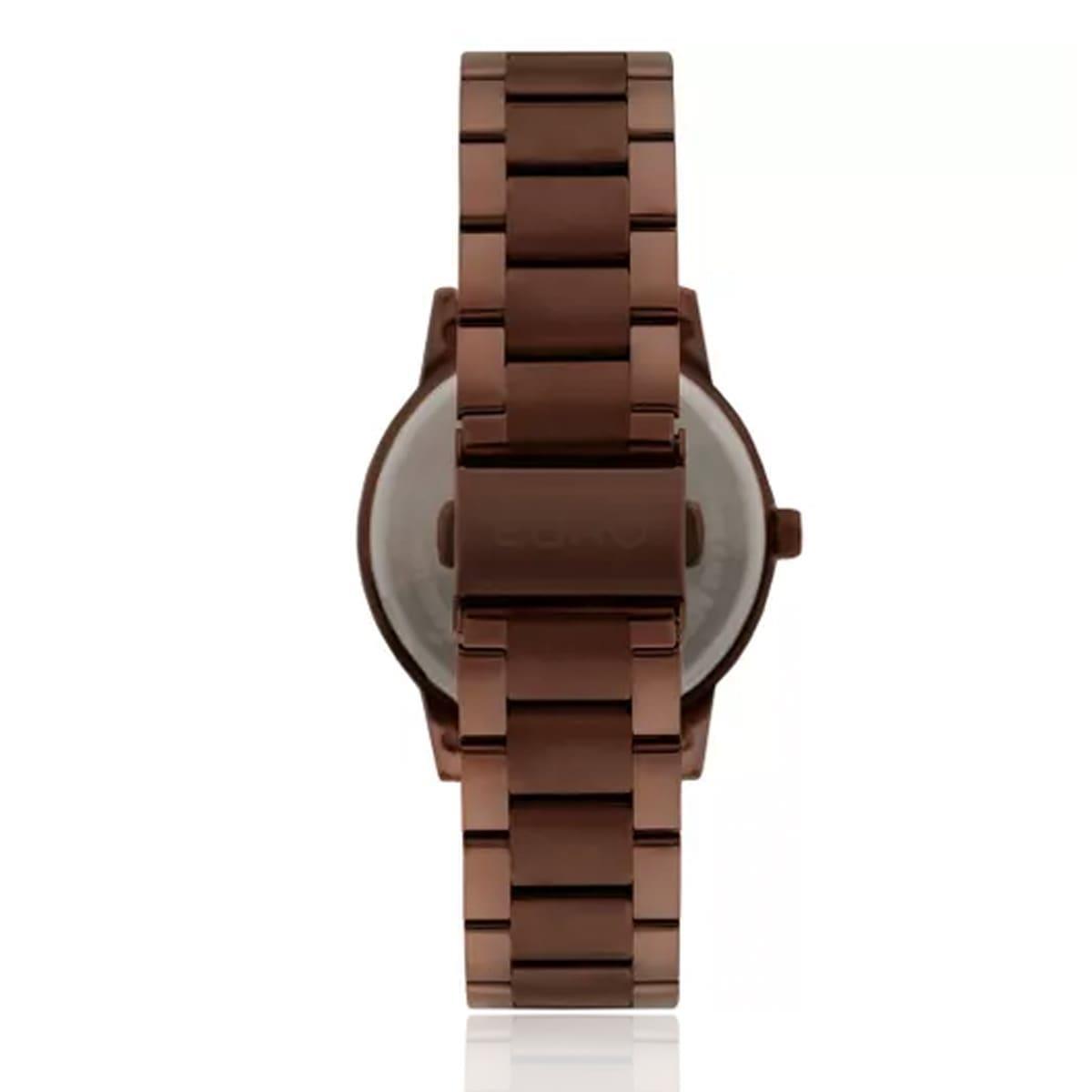 f90339956c6 Relógio Feminino Euro Metal Colors Analógico EU2036YLJ 4M Marrom