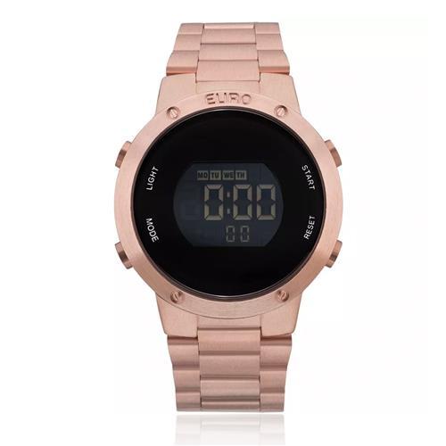 Relógio Feminino Euro EUBJ3279AF 4J Rose f9eb72d5d8
