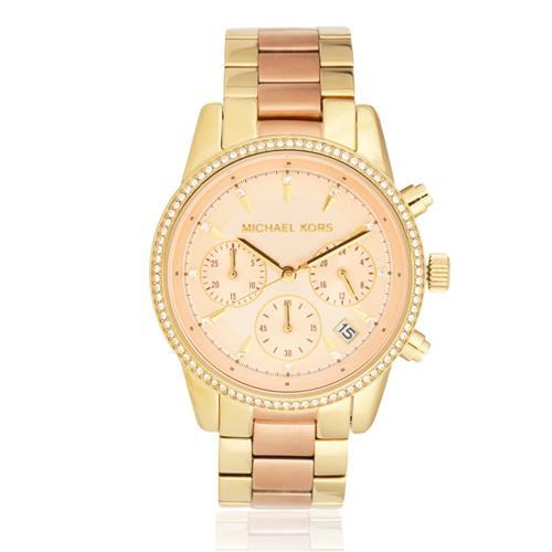 Relógio Feminino Michael Kors MK6475 5XN Dourado 8c7138f589