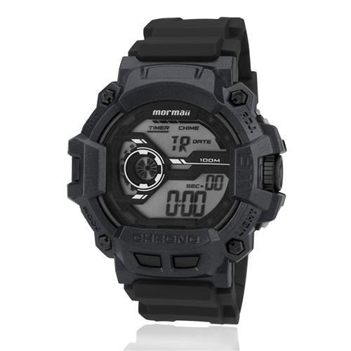 Relógio Masculino Mormaii MO1105AC/8C Preto