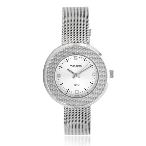 Relógio Feminino Mondaine Analógico 99219L0MVNE2 Aço