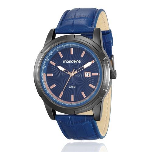Relógio Masculino Mondaine Analógico 83361GPMVSH1 Aço negro