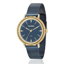 Relógio Feminino Mondaine Analógico 89001LPMVLE4 Azul