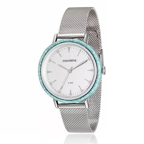 Relógio Feminino Mondaine Analógico 89001L0MVNE3 Aço inoxidável