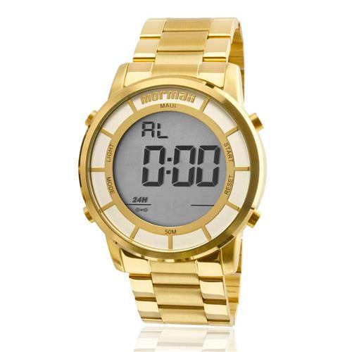 Relógio Feminino Mormaii MOBJ3463DC/4D Dourado