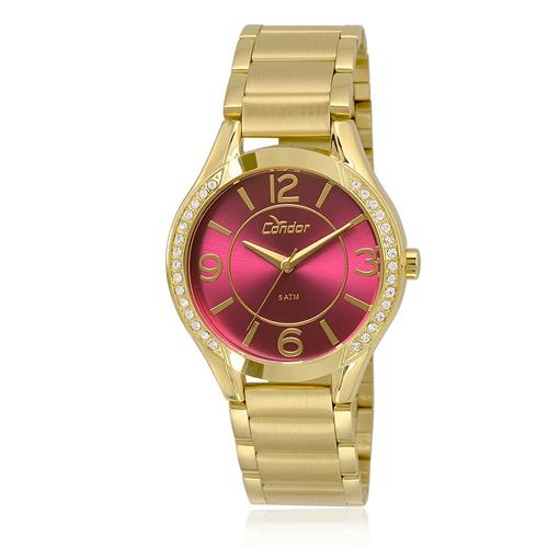 d8d5a593333 Relógio Feminino Condor CO2035KRG K4K Dourado