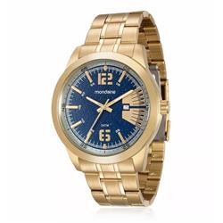 Relógio Masculino Mondaine Analógico 94968GPMVDA2 Dourado