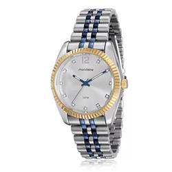 Relógio Feminino Mondaine Analógico 94987LPMVOS1 Aço misto