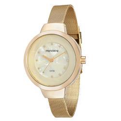 Relógio Feminino Mondaine Analógico 99052LPMVDE2 dourado