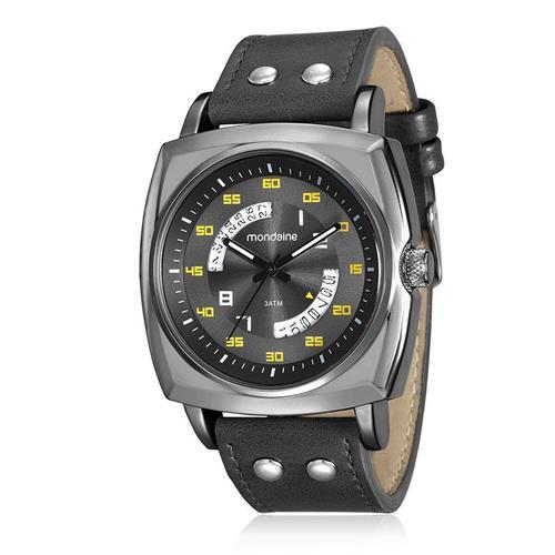 a61b4f5fc6a Relógio Masculino Mondaine Analógico 99061GPMVSH2 Aço negro