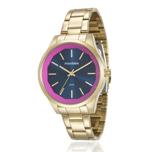Relógio Feminino Mondaine Analógico 99093LPMVDE2 Dourado