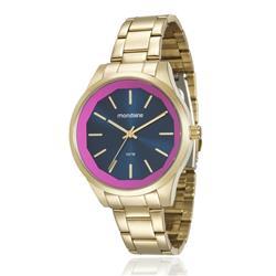 ddc75afb38e Relógio Feminino Mondaine Analógico 99093LPMVDE2 Dourado