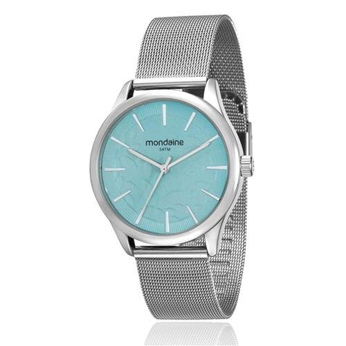 Relógio Feminino Mondaine Analógico 99123L0MVNE2 Aço inoxidável