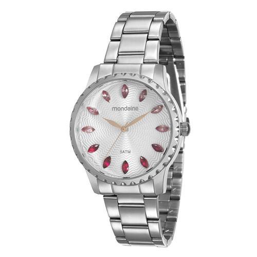 Relógio Feminino Mondaine Analógico 99170L0MVNE4 Aço inoxidável