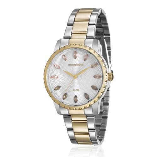 Relógio Feminino Mondaine Analógico 99170LPMVBE3 Aço misto