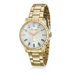 Relógio Feminino Mondaine Analógico 99170LPMVDE2 Dourado