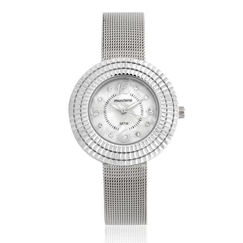 Relógio Feminino Mondaine Analógico 99218L0MVNE2 Aço com cristais