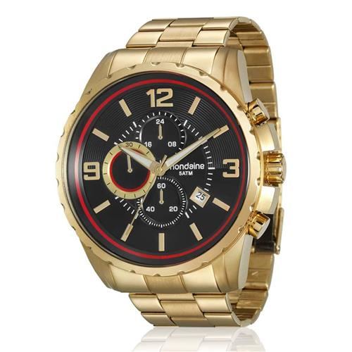 Relógio Masculino Mondaine Analógico 78729GPMVDA1 Dourado