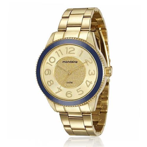 9308e54e927 Relógio Feminino Mondaine Analógico 76697LPMVDE3 Dourado