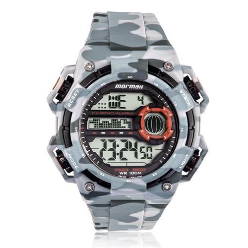 Relógio Masculino Mormaii Digital MOYP41639B/8C Estilo camuflado