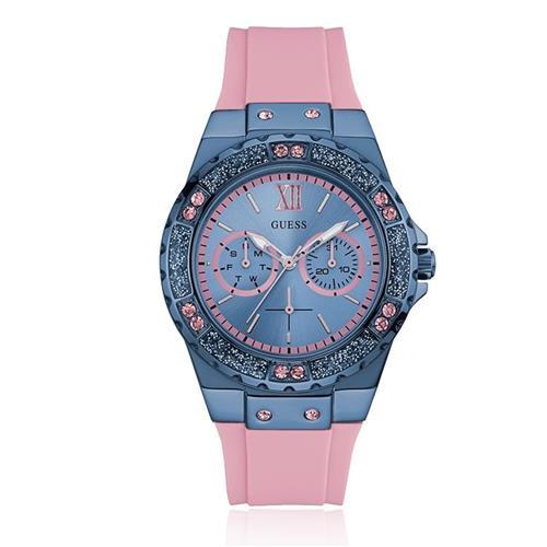 Relógio Feminino Guess Analógico 92601LPGSEU4 Borracha Rosa 37b024251a