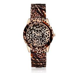 bf5eef36b33 Relógio Feminino Guess Analógico 92527LPGSRA1 Animal Print