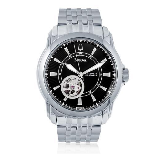3057513618a Relógio Masculino Bulova Automatic WB21356R Aço