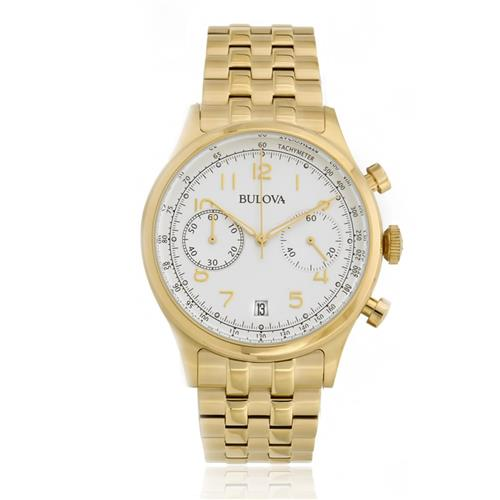 Relógio Masculino Bulova Dress WB22391H Dourado