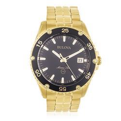 Relógio Masculino Bulova Marine Star WB30757U Dourado