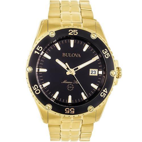 092f779bfdd Relógio Masculino Bulova Marine Star WB30757U Dourado